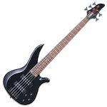 Yamaha RBX375 5 String Bass Guitar, Black RBX375BL