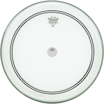 Remo 20 Inch Clear Powerstroke3 Drum Head With Falam Slam REP31320C2