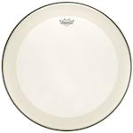Remo 20 Inch Clear Powerstroke4 Drum Head With Falam Slam REP41320C2