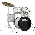 Tama Rhythm Mate Drum Kit 5-Piece, White RM50YH4CWH