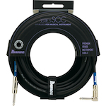 Ibanez Guitar Cable 10 Foot Angle, Switchcraft SCC10L