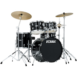 Tama Stagestar 5-piece Jazz Drum Kit, Black SG50H6CBK