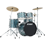 Tama Stagestar 5-piece Jazz Drum Kit, Silver SG50H6CCSV
