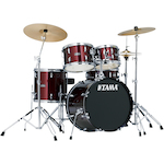 Tama Stagestar 5-piece Jazz Drum Kit, Wine Red SG50H6CWR