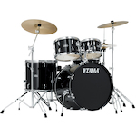 Tama Stagestar 5-piece Rock Drum Kit, Black SG52KH6CBK