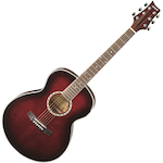 Ashton Slimline Acoustic Guitar, Wine Red SL29WRS