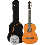 Ashton Classic Guitar Pack 1/2 Size, Amber SPCG12AM