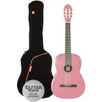 Ashton Classic Guitar Pack 1/2, Pink SPCG12PK