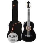 Ashton Classic Guitar Pack 1/4 Size, Black SPCG14BK