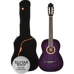 Ashton Classic Guitar Pack 1/4 Size, Purple SPCG14TP