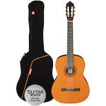 Ashton Classic Guitar Pack 3/4 Size, Amber SPCG34AM