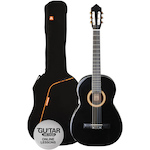 Ashton Classic Guitar Pack 4/4 Size, Black SPCG44BK