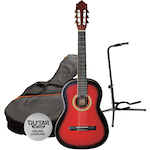 Ashton SPCG44TRB Classical Pack with Stand, Red Burst SPCG44TRB-GS50