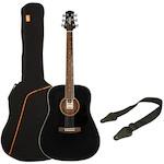 Ashton Acoustic Guitar Pack, Black SPD25BK