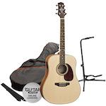 Ashton SPD25 Acoustic Pack with Stand, Matt Natural SPD25NTM-GS50