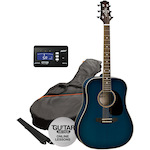 Ashton SPD25TBB Acoustic Package with Tuner SPD25TBB-CT170