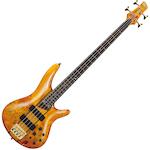 Ibanez SR Bass Guitar, Amber SR800AM