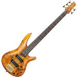 Ibanez SR Bass Guitar 5 String, Amber SR805AM