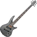 Ibanez SR Fan Fret Bass Guitar 5 String, Black Satin SRFF805BKS
