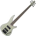 Ibanez SRX 5-String Bass Guitar, Transparent Grey SRX475TGY