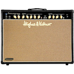 Hughes and Kettner Statesman 60 Watt 2x12 Valve Guitar Amp Combo with Reverb, Black STATESMANDUAL6L6BK