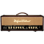 Hughes and Kettner Statesman 50 Watt Valve Guitar Amp Head with Reverb, Brown STATESMANDUALEL34H