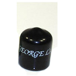 George L's Right Angle Connector Cover, Black STRESSCOVERRABK