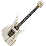 Schecter Synyster Custom White, Gold Pinstripes SYNCUSTOMWHTLTD