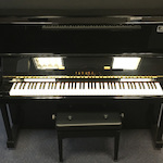 Japanese Yamaha Second Hand U10 Upright Piano 4534775 U10BLPESH11