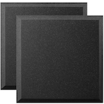 Ultimate 2 Pack 24x24 inch Bevel-style Acoustic Panel UAWPB24