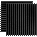 Ultimate 2 Pack 24x24 inch Wedge-style Acoustic Panel UAWPW24