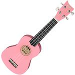 Ashton Soprano Ukulele, Pink UKE160PK