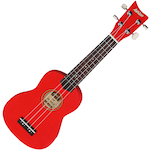 Ashton Soprano Ukulele, Red UKE160RD