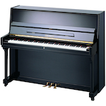 Beale Upright Piano, #11 Polished Ebony UP115M2A111