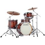 Tama Silverstar Custom 4-piece Drum Kit, Antique Brown Birch VP48SABR