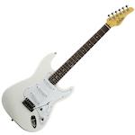 Schecter VS1 Electric Guitar, White VS1WHT