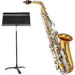 Yamaha YAS26 Saxophone and Symphony Stand YAS26-4801