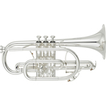 Yamaha Cornet, Bb Silver Plated, Gold Bell YCR8335GSII
