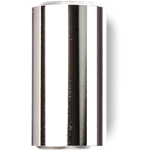 Dunlop 228 Chromed Brass Slide-Short/Medium-Heavy Wall Thickness