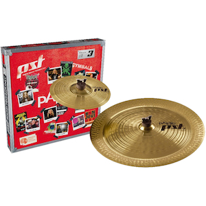 Paiste PST3 Cymbal Pack 10 inch Splash and 18 inch China