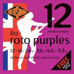 Rotosound Electric Guitar Strings 12-52