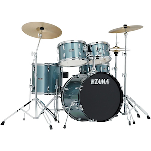 Tama SG52KH6 5 Piece Rock Drum Kit in Charcoal Silver