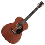 Martin Acoustic Guitar 17 Series 000 size w/Case Slotted Headstock 00010E
