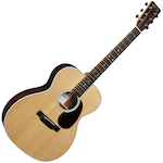 Martin Acoustic Guitar 17 Series 000 size w/Case Slotted Headstock 00013E