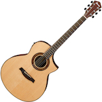 Ibanez Exotic Wood Acoustic/Electric, Natural AEW23MVNT