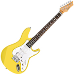 Ashton AG232 Electric Guitar Pack, Yellow AG232YL