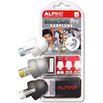 Alpine ALPMUSICSAFE TRAN Music Safe Pro Ear Plugs, Transparent ALPMUSICSAFETRAN