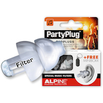 Alpine Party Plug Pro Ear Plugs, White ALPPARTYPLUG
