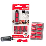 Alpine Plug And Go Foam Ear Plugs, 5 Pack ALPPLUGNGO