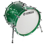 Yamaha AMB1814 Bass Drum Maple 18x14 Jade Green Sparkle AMB1814JGS